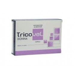 TRICOVEL DONNA INTEGRATORE ALIMENTARE CON NUTRIENTI SPECIFICI PER CAPELLI 30 COMPRESSE