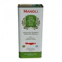 OLIO EXTRAVERGINE D'OLIVA MANOLI 5L