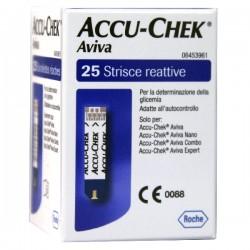 ACCU-CHEK AVIVA BRK RETAIL 25 STRISCE MISURAZIONE GLICEMIA