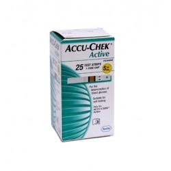 ACCU-CHEK ACTIVE 25 STRISCE MISURAZIONE GLICEMIA