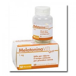 MELATONIN FAST 1 MG 60 COMPRESSE
