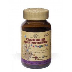 CANGURINI MULTINUTRIENTS FRUTTI BOSCO 60 COMPRESSE
