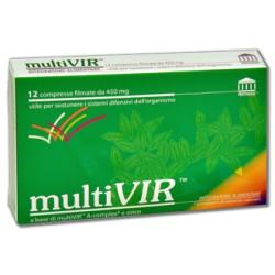 MULTIVIR 12 COMPRESSE FILMATE