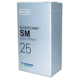 GLUCOCARD SM TEST STRIPS MISURAZIONE GLICEMIA 25 PZ