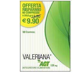 VALERIANA ACT 125 MG 60 COMPRESSE DA 125 MG