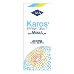KAROS SPRAY ORALE 0,3% 20 ML