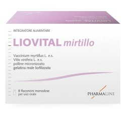 LIOVITAL MIRTILLO 8 FLACONCINI 10 ML