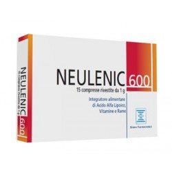 NEULENIC 600 15 COMPRESSE