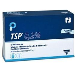 TSP 0,2% SOLUZIONE OFTALMICA UMETTANTE LUBRIFICANTE 30 FLACONCINI MONODOSE 0,5 ML