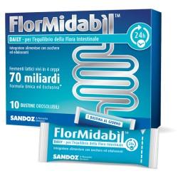 FLORMIDABIL DAILY 10 BUSTINE OROSOLUBILI 1,5 G