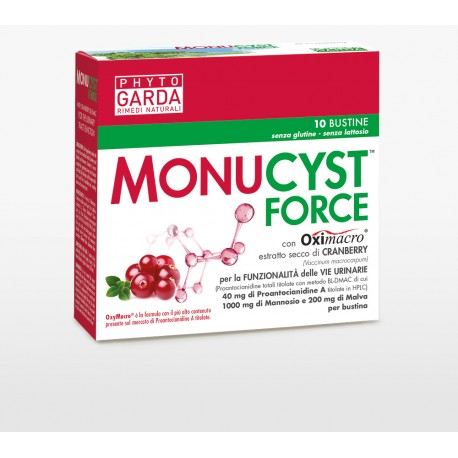 MONUCYST FORCE 10 BUSTINE