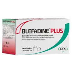 BLEFADINE PLUS 14 SALVIETTE PER DETERSIONE PERIOCULARE + 1 COMPRESSA