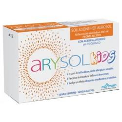 ARYSOL KIDS SOLUZIONE BAMBINI PER AEROSOL CON ACIDO IALURONICO PH FISIOLOGICO 10 FLACONCINI MONODOSE DA 5