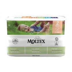 PANNOLINI MOLTEX PURE & NATURE MINI 3-6 KG TAGLIA 2 38