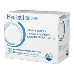 HYALISTIL BIO SOLUZIONE OFTALMICA PHOSPHATE FREE MONODOSE A BASE DI ACIDO IALURONICO 0,2% 30 FLACONCINI 0,25