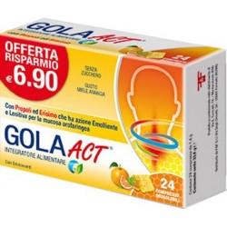 GOLA ACT MIELE ARANCIA 24 COMPRESSE SOLUBILI 33,6