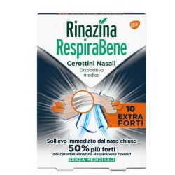 RINAZINA RESPIRABENE CEROTTI NASALI EXTRA FORTI 10