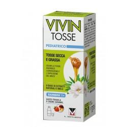 VIVIN TOSSE PEDIATRICO SCIROPPO PER TOSSE SECCA E GRASSA GUSTO FRAGOLA E CREME CARAMEL 150
