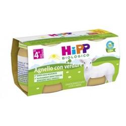 HIPP BIO HIPP BIO OMOGENEIZZATO A GNELLO CON VERDURE 2X80