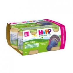 HIPP BIO HIPP BIO OMOGENEIZZATO TACCHINO 4X80
