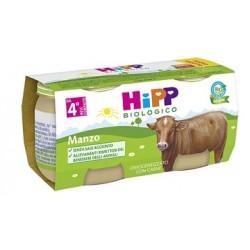 HIPP BIO HIPP BIO OMOGENEIZZATO MANZO 2X80