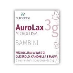 MICROCLISMI PER BAMBINI AUROLAX 6 CONTENITORI 3