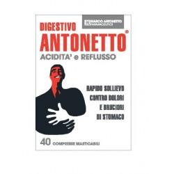 DIGESTIVO ANTONETTO ACIDITA' E REFLUSSO 40 COMPRESSE