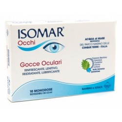 ISOMAR OCCHI GOCCE OCULARI ALL'ACIDO IALURONICO 0,20% 10