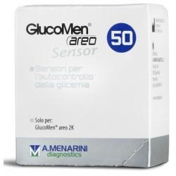 STRISCE GLUCOMEN AREO SENSOR PER ANALISI DEL GLUCOSIO 50
