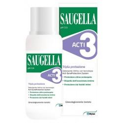 SAUGELLA ACTI3 DETERGENTE INTIMO 250