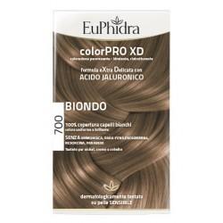 EUPHIDRA COLORPRO XD 700 BIONDO GEL COLORANTE CAPELLI IN FLACONE + ATTIVANTE + BALSAMO +