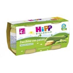 HIPP BIO HIPP BIO OMOGENEIZZATO ZUCCHINE CON PATATE 2X80