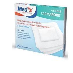 MEDS PORE MEDICAZIONE ADESIVA 10X12 CM 5