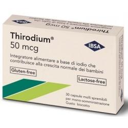 THIRODIUM 50MCG 30 CAPSULE SPREMIBILI MONO-SOMMINISTRAZIONE 7,54