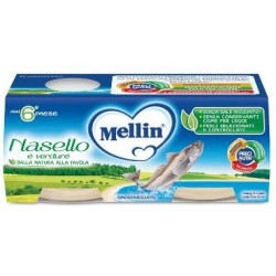 MELLIN OMOGENEIZZATO NASELLO 2 X 80