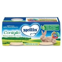 MELLIN OMOGENEIZZATO CONIGLIO 2 X 80