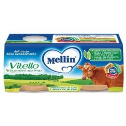 MELLIN OMOGENEIZZATO VITELLO 2 X 80