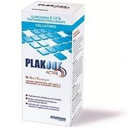 PLAK OUT ACTIVE CLOREXIDINA 0,12% COLLUTORIO 200