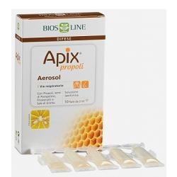 APIX PROPOLI AEROSOL 10 FIALE MONODOSE X 2