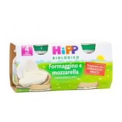 HIPP BIO HIPP BIO OMOGENEIZZATO FORMAGGINO MOZZARELLA 2X80