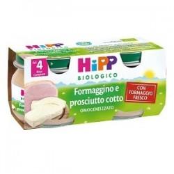 HIPP BIO HIPP BIO OMOGENEIZZATO FORMAGGINO PROSCIUTTO 2X80