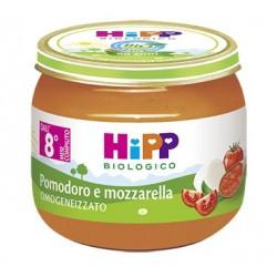 HIPP BIO HIPP BIO OMOGENEIZZATO SUGO POMODORO MOZZARELLA 2X80