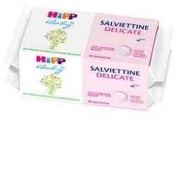 HIPP SALVIETTINE DELICATE PACCO SCORTA 2X56