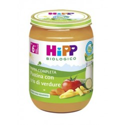 HIPP BIO HIPP BIO PAPPA PRONTA PAST TRIS DI VERDURE 190