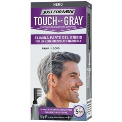 JUST FOR MEN TOUCH OF GRAY NERO 40
