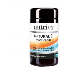 NUTRIVA NATURAL C 60 COMPRESSE