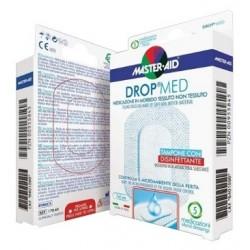 MEDICAZIONE COMPRESSA AUTOADESIVA DERMOATTIVA IPOALLERGENICA AERATA MASTER-AID DROP MED 10,5X15 5