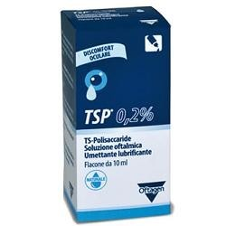 SOLUZIONE OFTALMICA TSP 0,2% TS POLISACCARIDE FLACONE 10