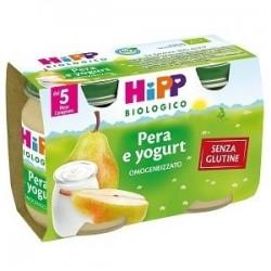 HIPP BIO HIPP BIO OMOGENEIZZATO PERA YOGURT 2X125