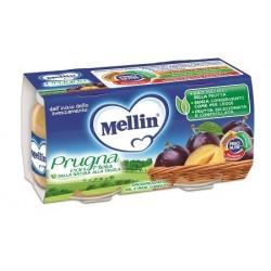 MELLIN OMOGENEIZZATO PRUGNA MELA 100 G 2